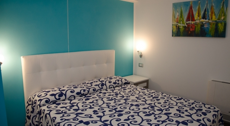 TurismoInCilento.it - B&B,Casevacanze,Hotel - La rosa dei venti - bilocale bora max 4 persone camera da letto