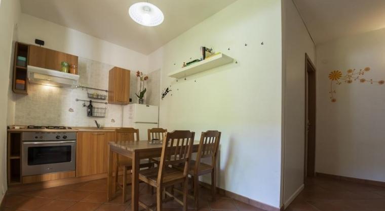 TurismoInCilento.it - B&B,Casevacanze,Hotel - Residence Villa Andrea - Marina di Camerota - Soggiorno cucina Trilocale