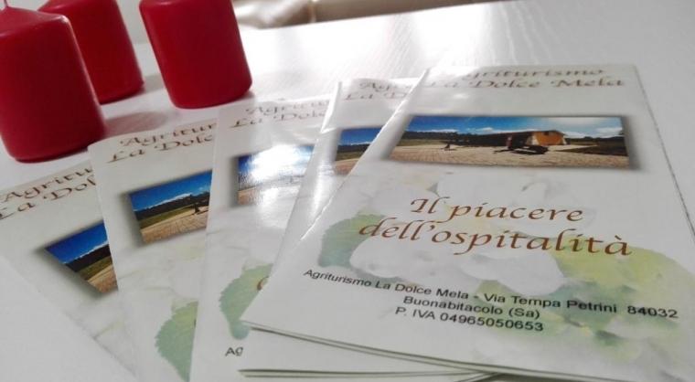 TurismoInCilento.it - B&B,Casevacanze,Hotel - Agriturismo La Dolce Mela - Brochures