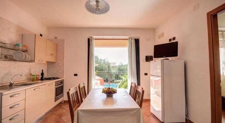TurismoInCilento.it - B&B,Casevacanze,Hotel - Residence Villa Andrea - Marina di Camerota - Sogiorno Cucina Bilocale