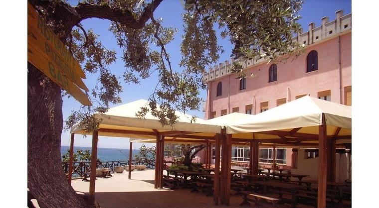 TurismoInCilento.it - B&B,Casevacanze,Hotel - hotel villaggio Hydra Club - esterno ristorante