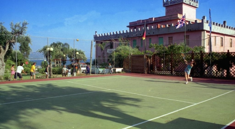 TurismoInCilento.it - B&B,Casevacanze,Hotel - hotel villaggio Hydra Club - campo da tennis