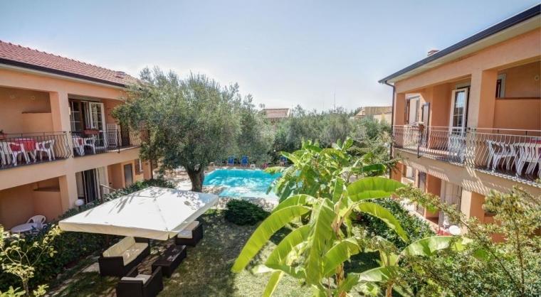 TurismoInCilento.it - B&B,Casevacanze,Hotel - Residence Villa Andrea - Marina di Camerota - Panoramica del giardino